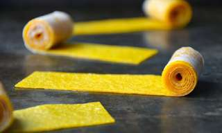 Homemade Mango Roll-Ups Recipe