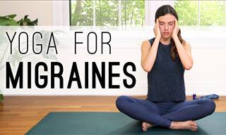 Relieve Migraine Symptoms with a 20-Minute Yoga Practice
