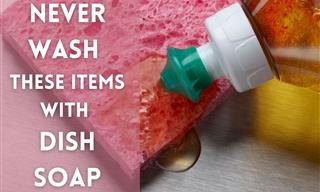 Cleaning Tips: Keep the Dish Soap AWAY From These Things