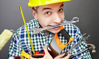 Hacks For Repairs, Renovations and DIY