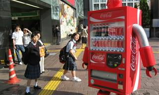 Who Said Vending Machines Were Only For Snacks and Soda?