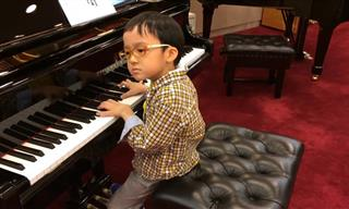 Wow, This 5-Year-Old Can Play Chopin!