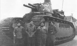 14 Rather Large WWI and WWII Tanks