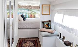 This Bus Was Transformed into a Home