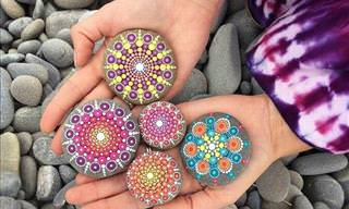 See How This Artist Transforms Rocks Into Art