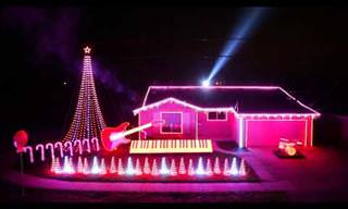 Star Wars Christmas Light Show