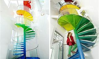 Creative and Colorful Staircases For a Perfect Dream Home