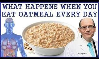 What Happens When We Eat Oatmeal Every Day?