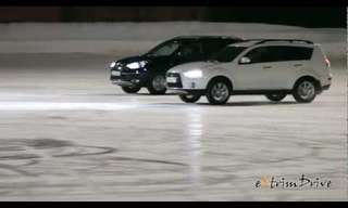 An Ice Ballet with 4 Wheels...