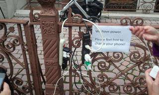 Human Spirit Shines -  Good Deeds During Sandy!