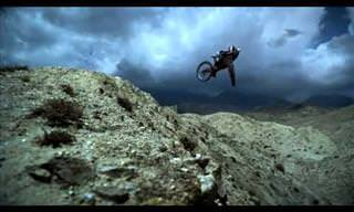 Extreme Mountain Biking: What Goes Up Must Come Down!