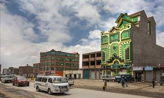 "Brand New Bolivian ""Andean Architecture"""