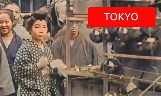 This Archival Footage of Japan from 1913-1915 Is Amazing