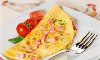 How to Make a Tasty Ham and Cheese Omelet