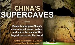 Go Deep Into the China`s Super-Cave With This Virtual Tour!