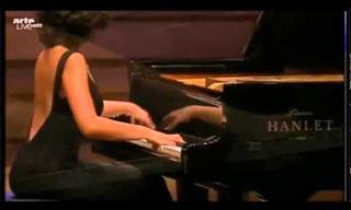 Khatia Buniatishvili Plays Handel for the Ice Dancers