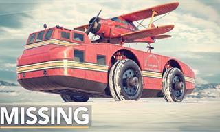 "The Amazing ""Snow Cruiser"" – Antarctica's Lost Behemoth"