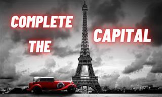QUIZ: Can You Complete The Capital?