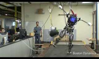 Meet ATLAS, the Mountain Climbing Robot!
