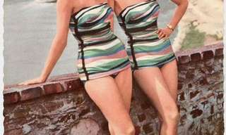 The Beach Fashion of the 1950s!