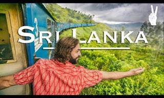 A Beautiful Train Ride Through the Mountains of Sri Lanka
