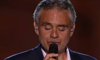 Watch This Live Performance by Andrea Bocelli