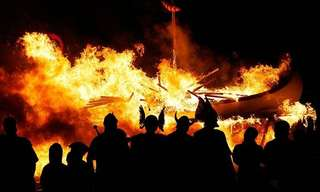 Up Helly Aa - The Viking Fire Festival!