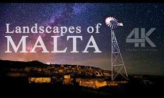 malta 4k drone video