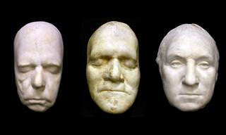 14 Death Masks of Famous People