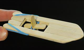 DIY Tips: How to Make an Elastic Band Paddle Boat