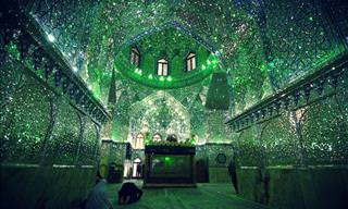 Shah Cheragh - A Beautiful Mosque in Shiraz, Iran