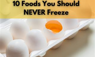 10 Foods We Often Keep In the Freezer, But Shouldn't