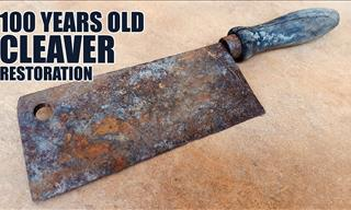 Restoration: Watch a 100 year Old Cleaver Restored in Full!