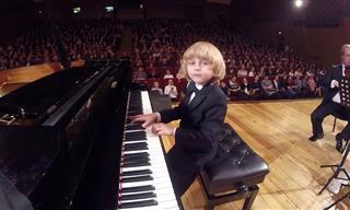 Hearing 6-Year-Old Elisei Mysin Play Mozart Is Pure Bliss!