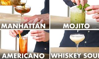 Learn to Conjure Up Over 30 Different Cocktails!