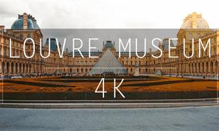 Admire the Splendor of the Louvre in Stunning Detail