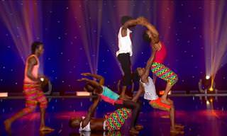 Wow! This is One of the Best Acrobat Acts You'll Ever See!