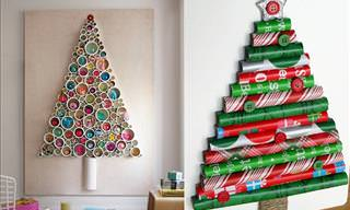 DIY Alternative Christmas Tree Ideas