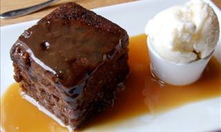 A Delicious Sticky Toffee Pudding Recipe