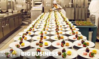 What Goes Into Operating Kitchens in Large Cruise Ships?