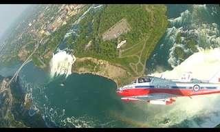 Floating Above Niagara Falls - Beautiful!