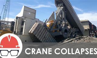 Cranes Collapse Way TOO Often - Biggest Crane Disasters