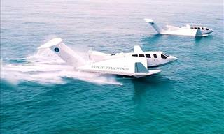 Airfish 8 - The Plane That Will Replace Ships