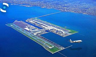 This Floating Airport in Japan is an Engineering Marvel
