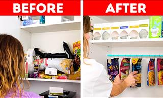 23 Organizing Hacks For Your Living Space