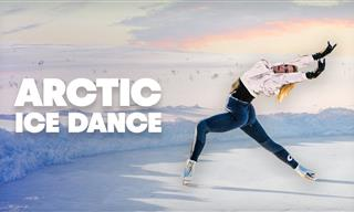 A Jaw-Dropping Figure Skating Show in the Arctic Circle