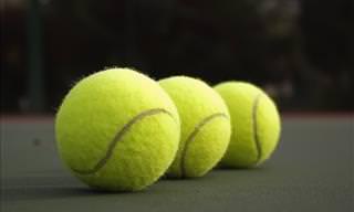 Using Tennis Balls on Long Flights
