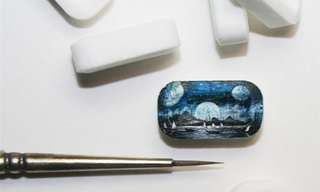 These Tiny Works of Art Can Fit On Your Thumb!