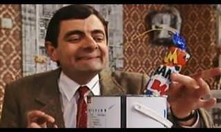 Mr Bean: How NOT to Paint Your Walls