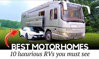 10 Recreational Vehicles That Put a Real Price on Luxury